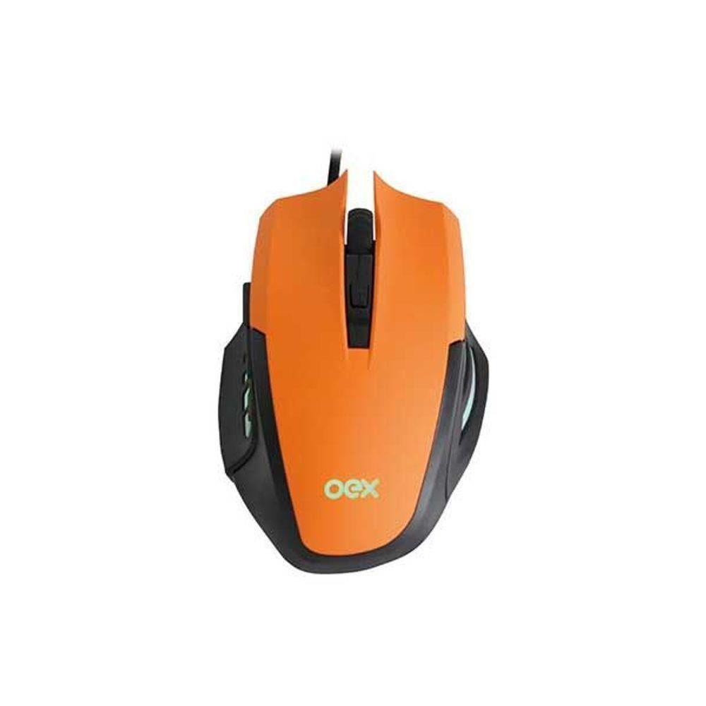 Mouse Gamer 3200dpi e MousePad MC103 Combo Clash - Oex