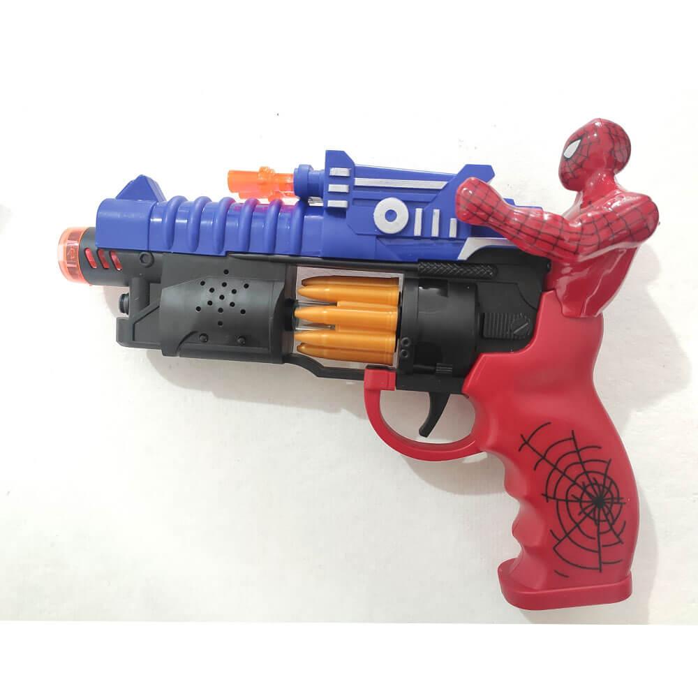 Pistola Homem Aranha com Led