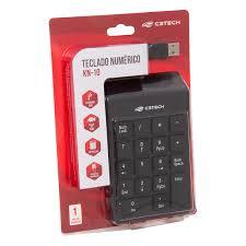 Teclado Numérico USB KN-10 C3 Tech