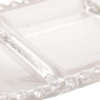 PETISQUEIRA CRISTAL C/3 DIVISOES OVAL PEARL