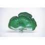 Petisqueira em Cerâmica  Folha Leque Verde