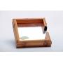 Porta Guardanapo em Bambu Natural Espelhado