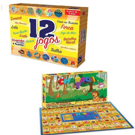 Jogos - 12 Jogos Educativo - Algazarra