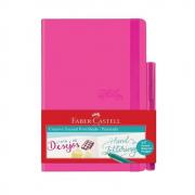 Caderno Pontilhado Creative Journal Rosa - Faber Castell