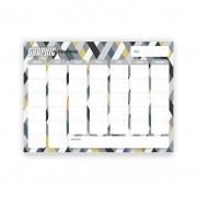 Bloco Planner De Mesa Mensal Graphic - Redoma