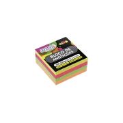 Bloco adesivo smart notes linha neon - BRW