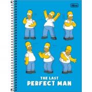 Caderno Universitário 1 Matéria Simpsons - Tilibra