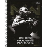 Caderno Universitário 10 Matérias Call Of Duty - Tilibra