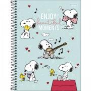 Caderno Universitário 10 Matérias Snoopy 160 Folhas - Tilibra