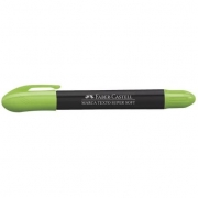 Caneta Marca Texto Super Soft Verde - Faber-Castell