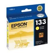 Cartucho 133 T133420A amarelo 5ML - Epson
