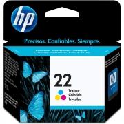 Cartucho 22 C9352AB Colorido 6ML - HP