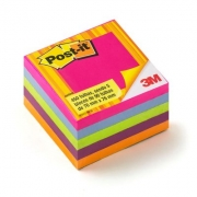 Cubo Tropical Post-It® 3M 76x76 mm c/ 450 Fls