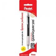 Lapiseira 0.5mm Graphgear Preta, SM-PG525-A6 - Pentel