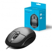 Mouse classic full black MO300 - Multilaser