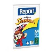 Papel Sulfite A4 Branco c 100 folhas Seninha - Report
