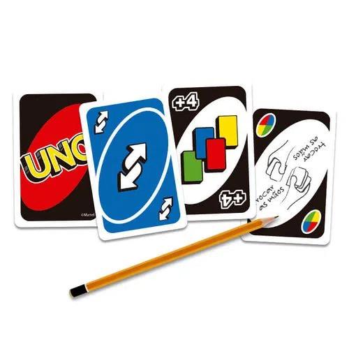 Jogo De Cartas Uno Original Baralho Copag Mattel