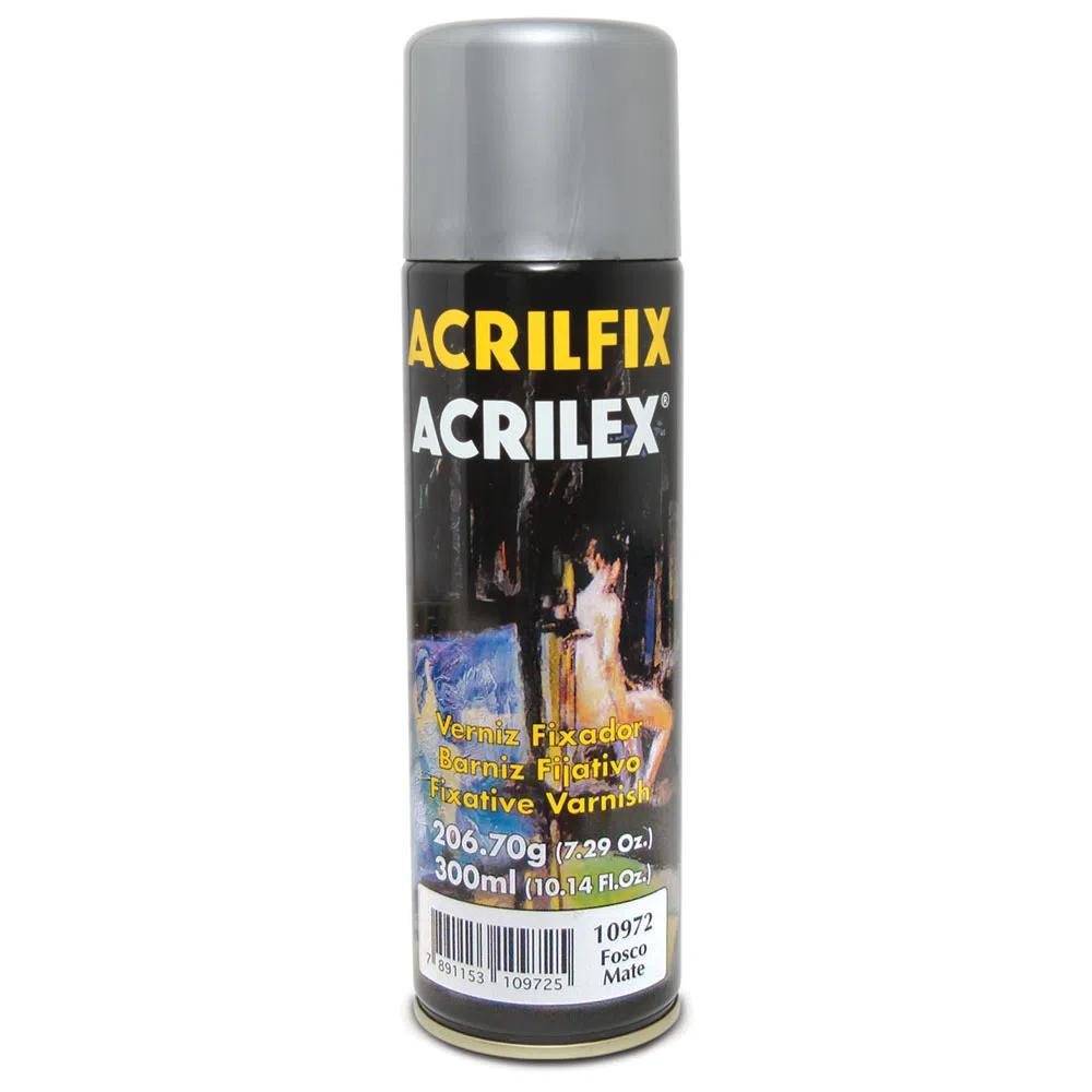Verniz Fixador Fosco Acrilfix 300ml - Acrilex