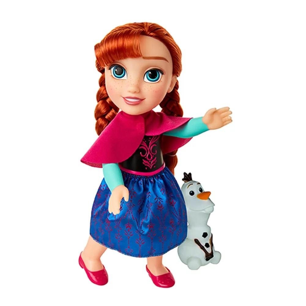 Boneca Anna Passeio Com Olaf - Mimo