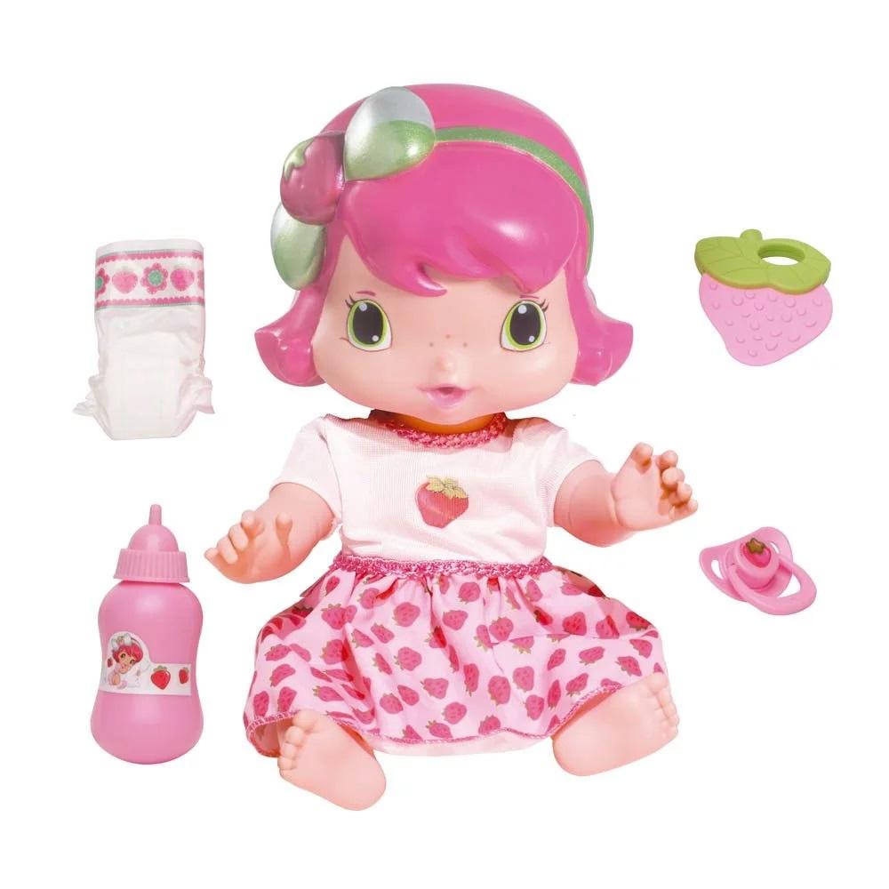 Boneca Baby Moranguinho Faz Xixi - Mimo