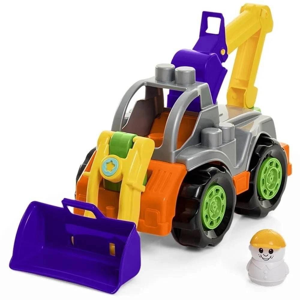 Trator Infantil Rodadinho Blocks TaTeTi - Calesita