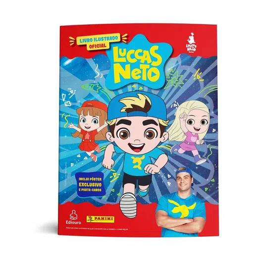Livro Álbum de Figurinhas Luccas Neto Com Pôster - Ediouro