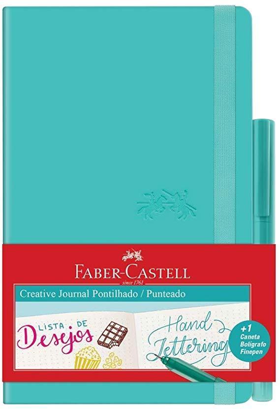 Caderneta Pontilhado Creative Journal - Faber Castell