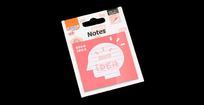 Bloco Adesivo Smart Notes Frame Boa Ideia 75mm x 75mm - BRW