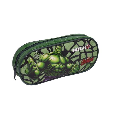 Estojo Escolar Simples Hulk - DAC