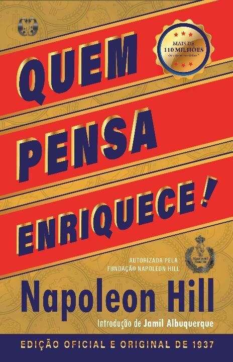 Livro Quem Pensa Enriquece Edicão Oficial e Original de 1937 - Napoleon Hill