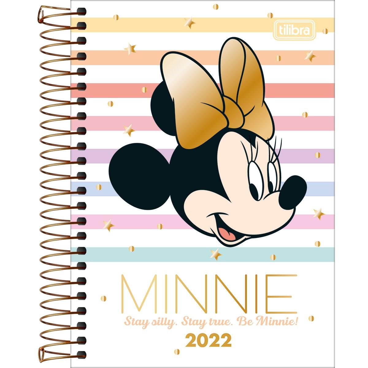 Agenda Diária Minnie 2022 - Tilibra