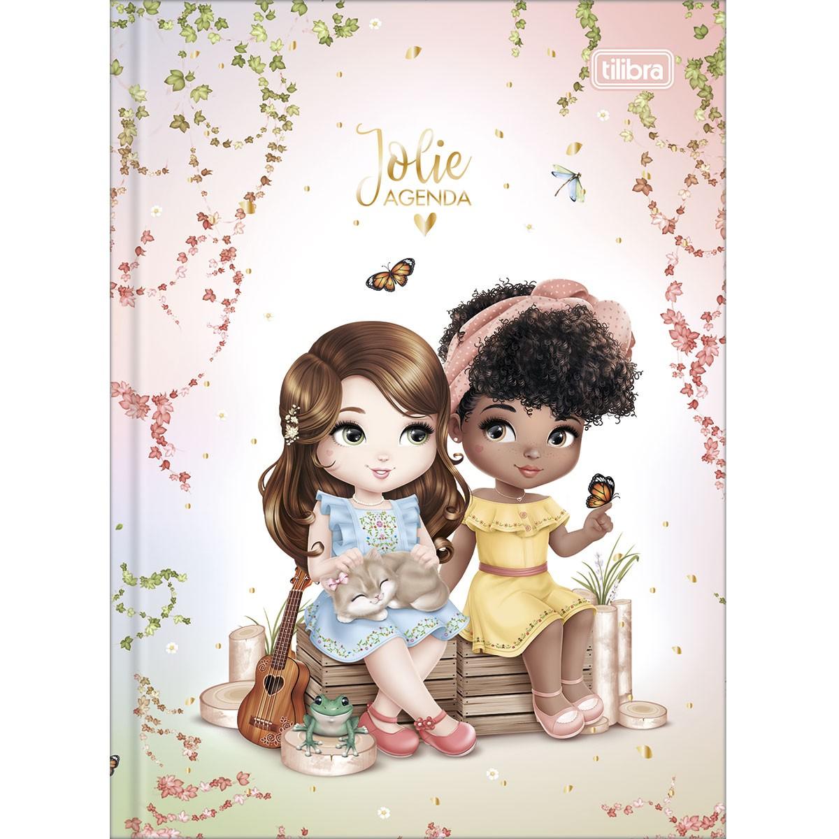 Agenda Permanente Jolie Above All Love Costurada - Tilibra