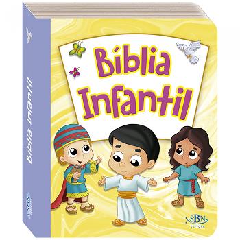 Bíblia Infantil Colecão Pequeninos - SBN Editora