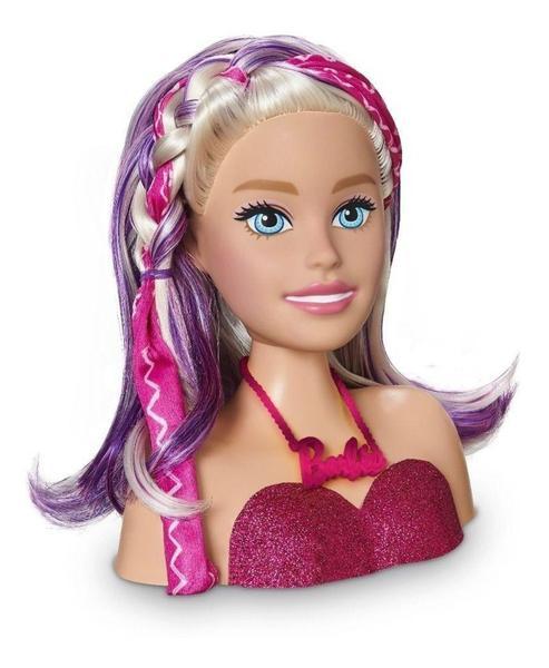 Boneca Barbie Busto Maquiagem Styling Head