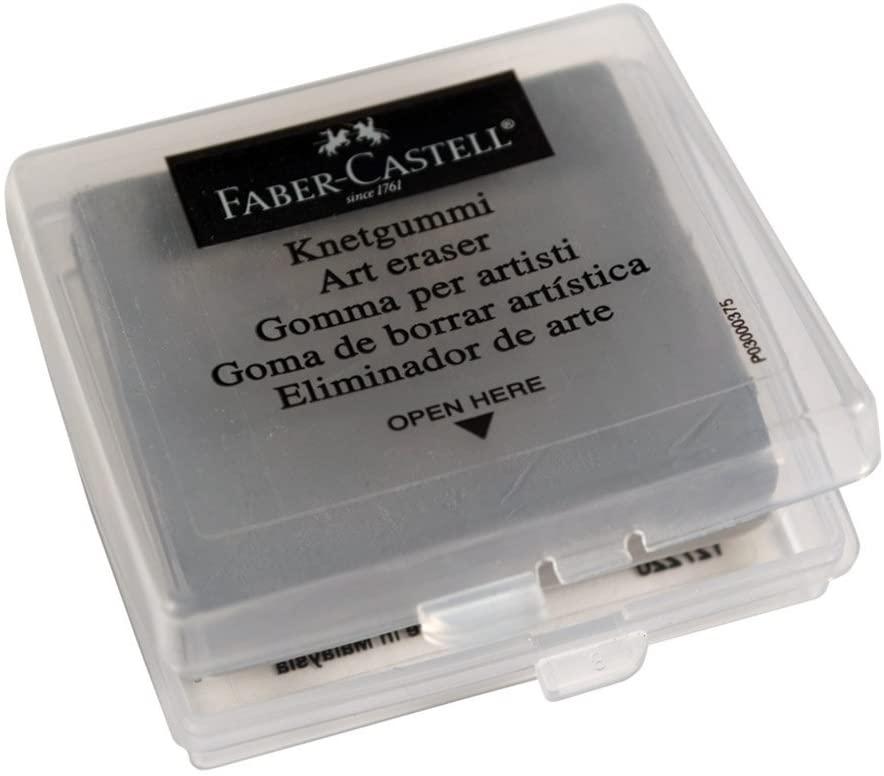 Borracha Artística Faber-Castell Maleável Cinza