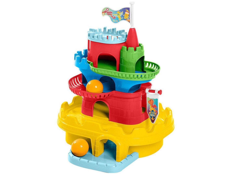 Brinquedo Educativo Monta Castelo TaTeTi - Calesita
