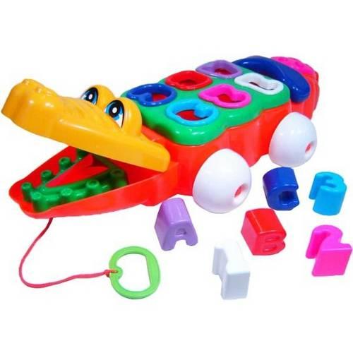 Brinquedo Jacaré Didático - Calesita
