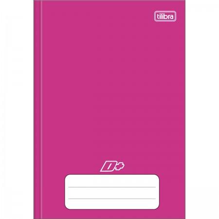 Caderno Brochura C.D 1/4 Rosa - Tilibra