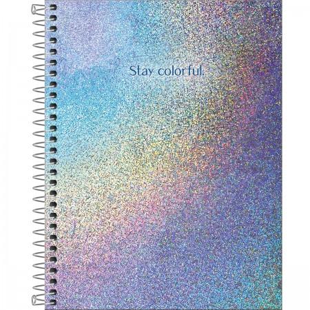 Caderno Colegial C.D 1 Matéria Glow - Tlilibra
