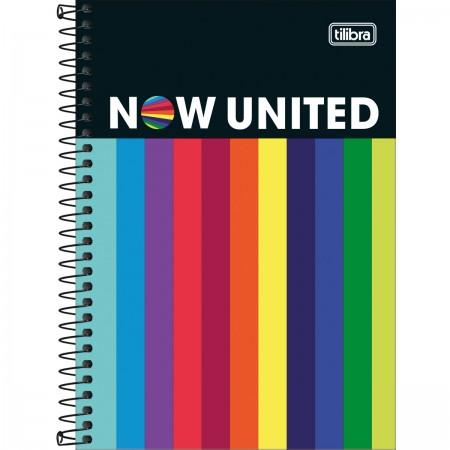 Caderno Espiral 1/4 Now United Com 4 Unidades - Tilibra