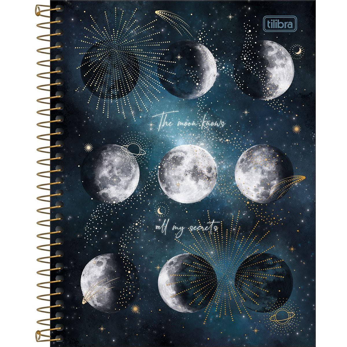 Caderno Espiral Colegial 1 Matéria Magic - Tilibra