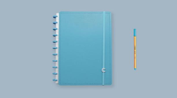 Caderno Inteligente All Blue Grande - Caderno Inteligente