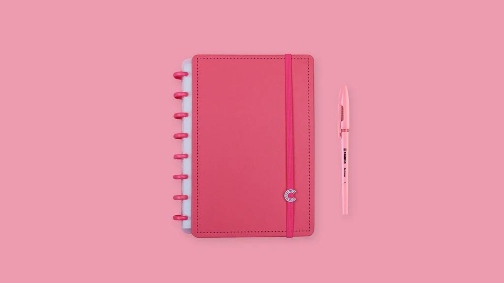Caderno Inteligente All Pink A5
