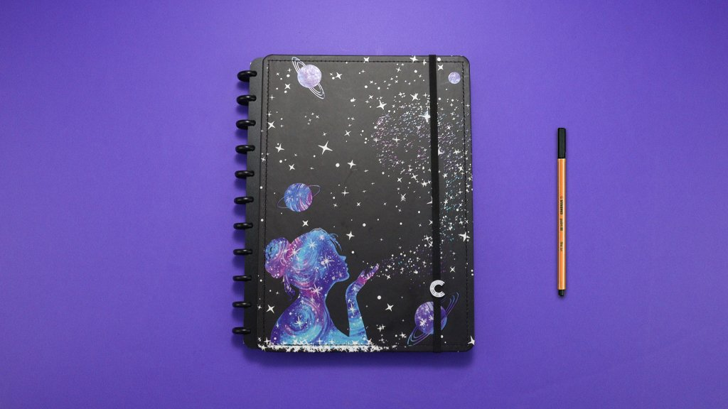 Caderno Inteligente By Gocase Poeira das estrelas