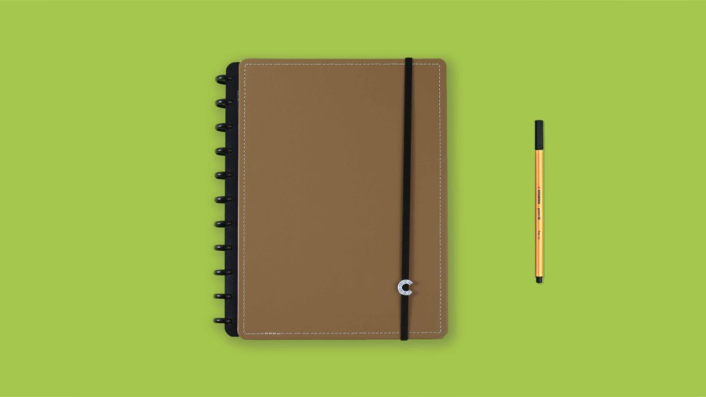 Caderno Inteligente Caramel Grande