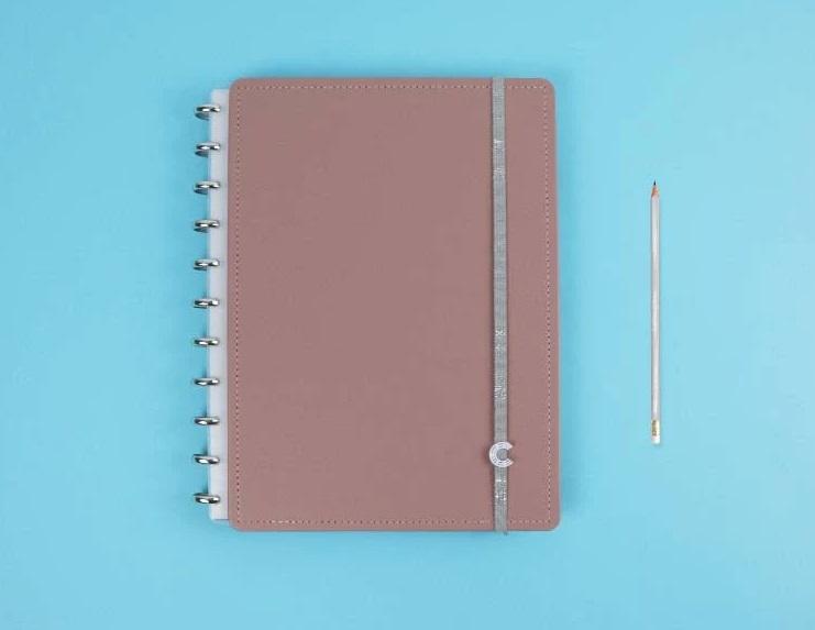 Caderno Inteligente Chic Nude - Grande
