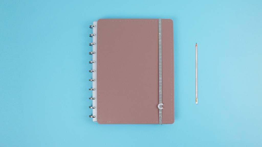 Caderno Inteligente Chic Nude - Médio