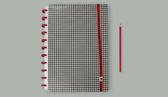 Caderno Inteligente Príncipe de Gales Grande