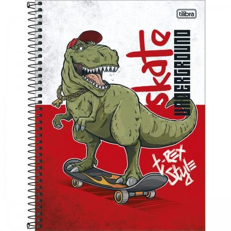 Caderno Universitário C.D 1 Matéria Raptor 80 Fls - Tilibra