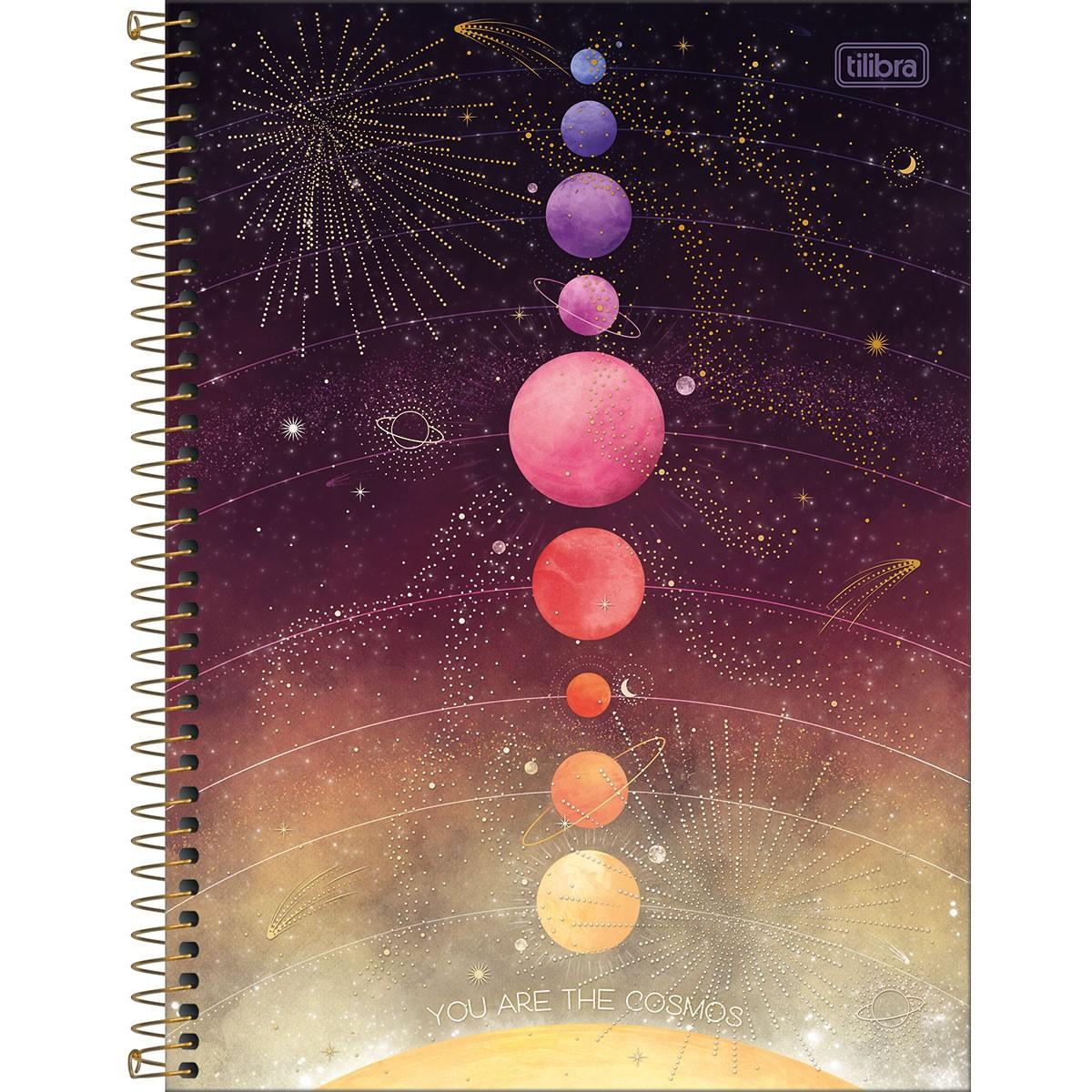 Caderno Universitário Magic 10 Matérias - Tilibra